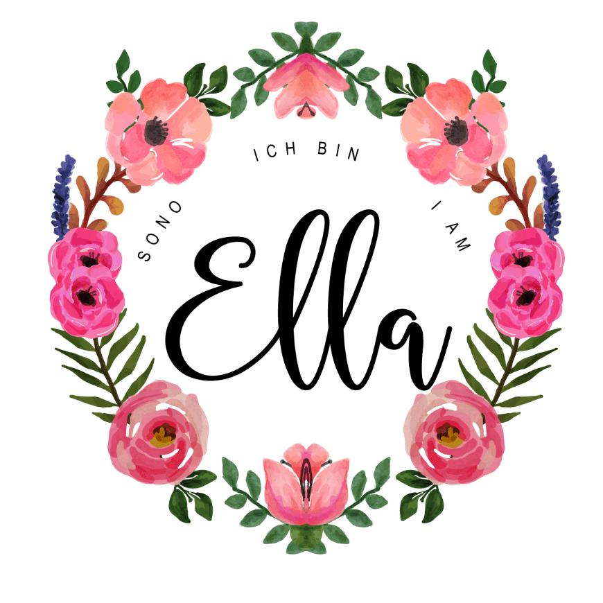 Ich bin Ella